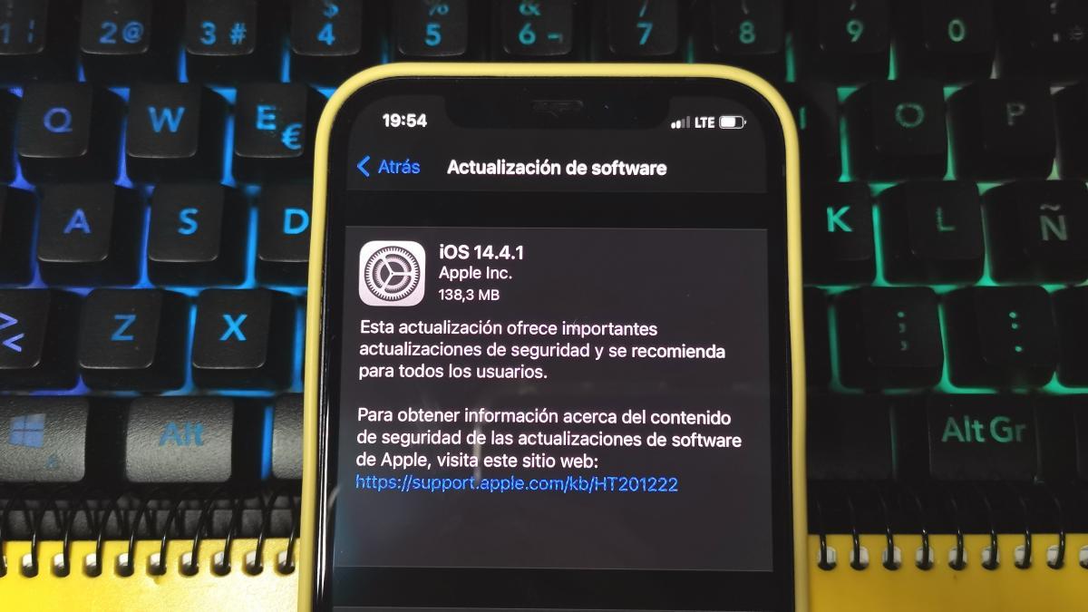 ¿Por qué deberías actualizar tu iPhone y iPad a iOS 14.4.1?