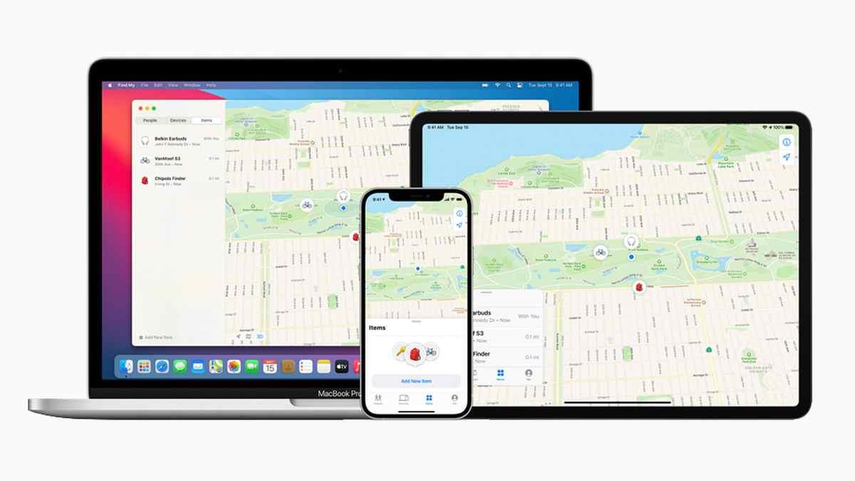 'Find My' de Apple ahora permitirá dispositivos de terceros