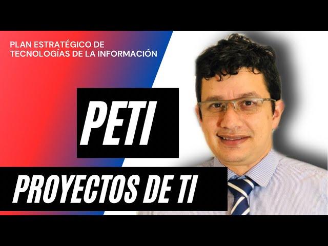 PETI AS – IS 💥 Plan Estratégico de Tecnologías de la Información